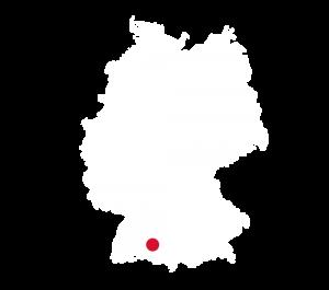 Hotel Rössle Weingarten Deutschlandkarte