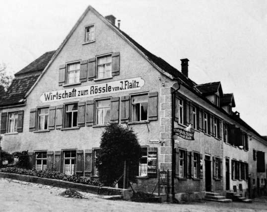 Hotel Rössle Weingarten Außenansicht